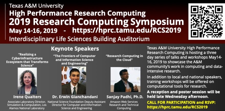 2019 TAMU Research Computing Symposium